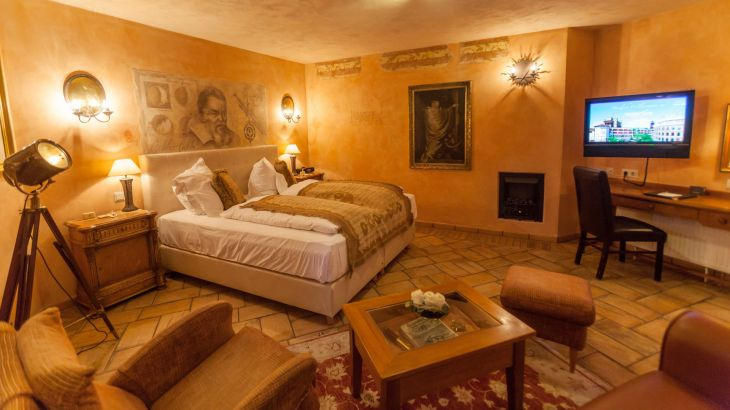 "Juniorsuite im Hotel ""Colosseo"""
